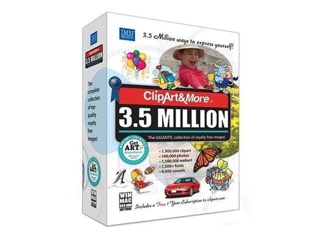 IMSI ClipArt&More 3.5 Million.