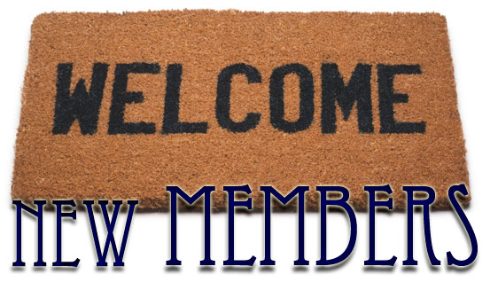 Welcome New Members Clip Art.