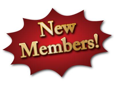 New Members Clip Art.