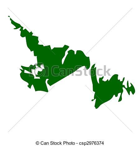 Newfoundland Stock Illustration Images. 376 Newfoundland.