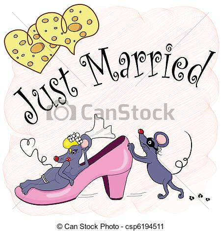 Newly married couple Vector Clipart EPS Images. 338 Newly married.