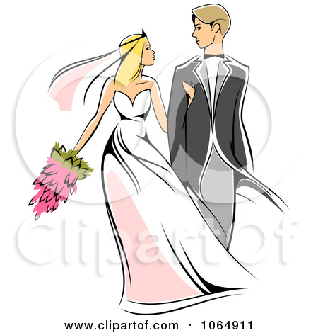 Newlywed clipart.