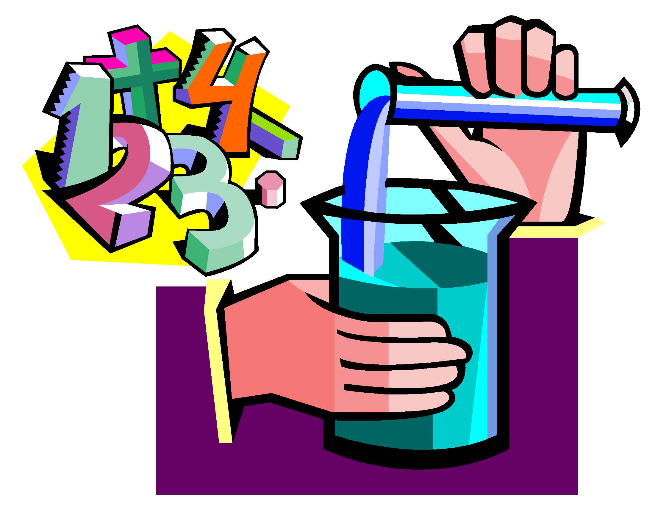 Mathematics Science Clipart.