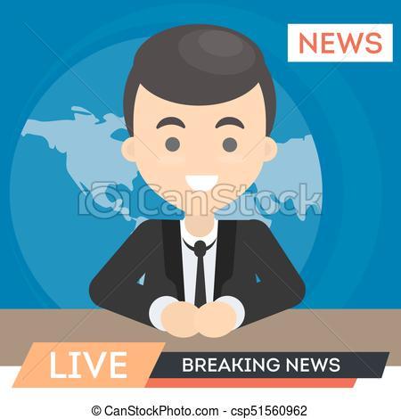 TV news anchor..