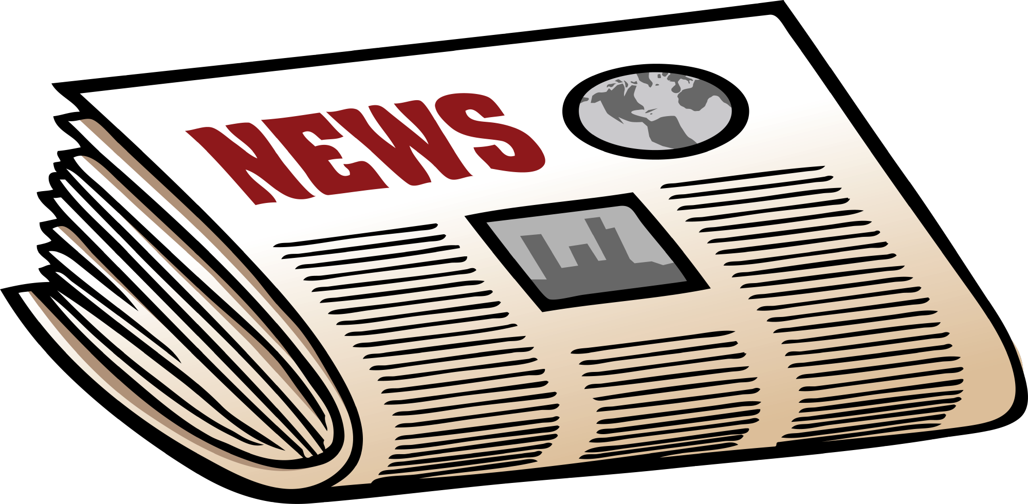 Newspaper Clipart Png.