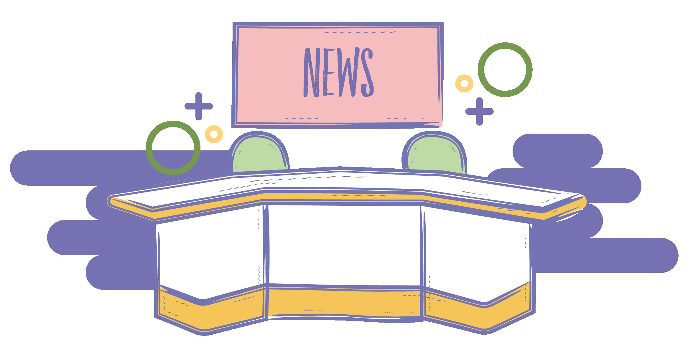 News Room Clipart.