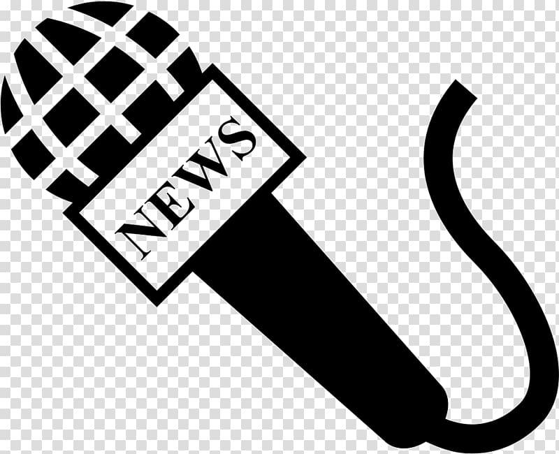 Journalist Newspaper Microphone News presenter , microphone.