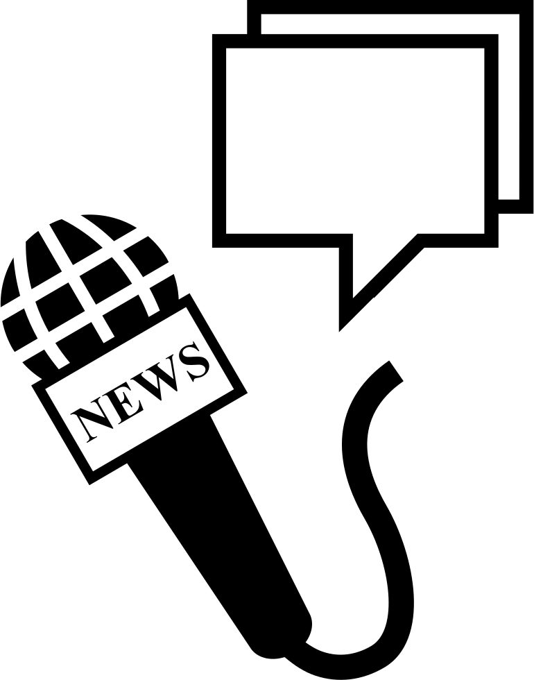 Microphone clipart news, Microphone news Transparent FREE.