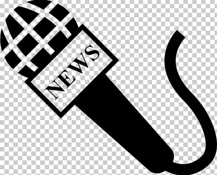 Journalist Newspaper Microphone News Presenter PNG, Clipart.