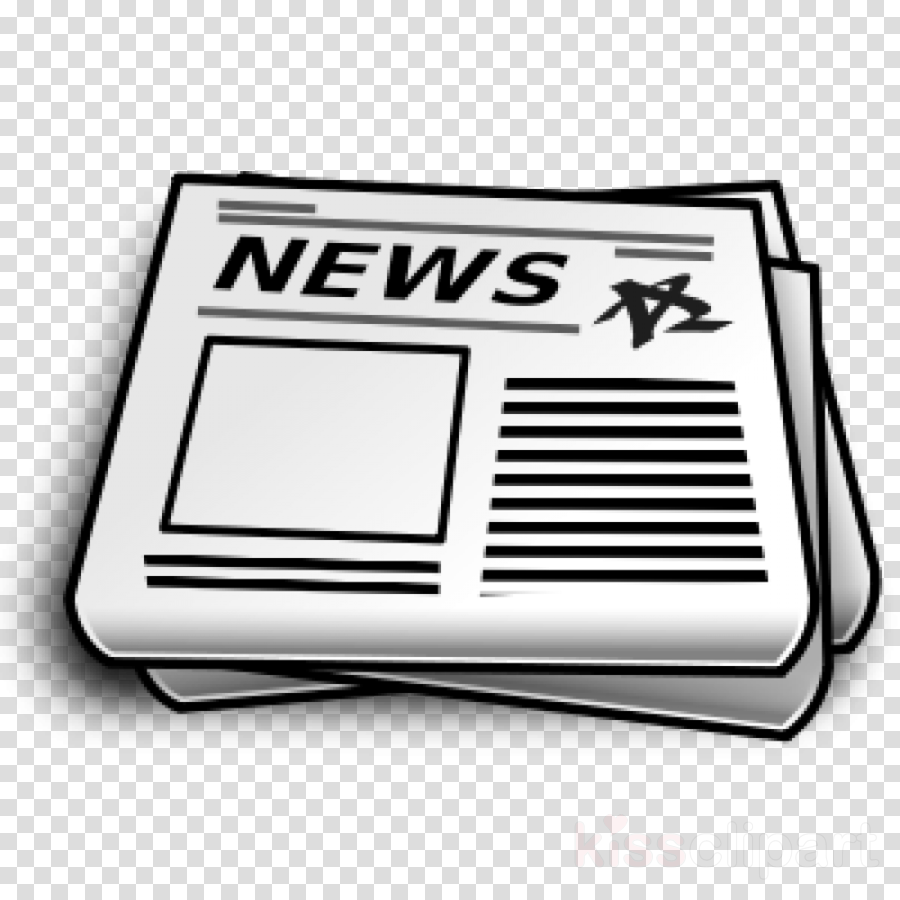 Newspaper, News, Illustration, transparent png image.