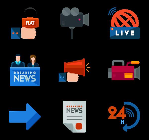 133 news icon packs.