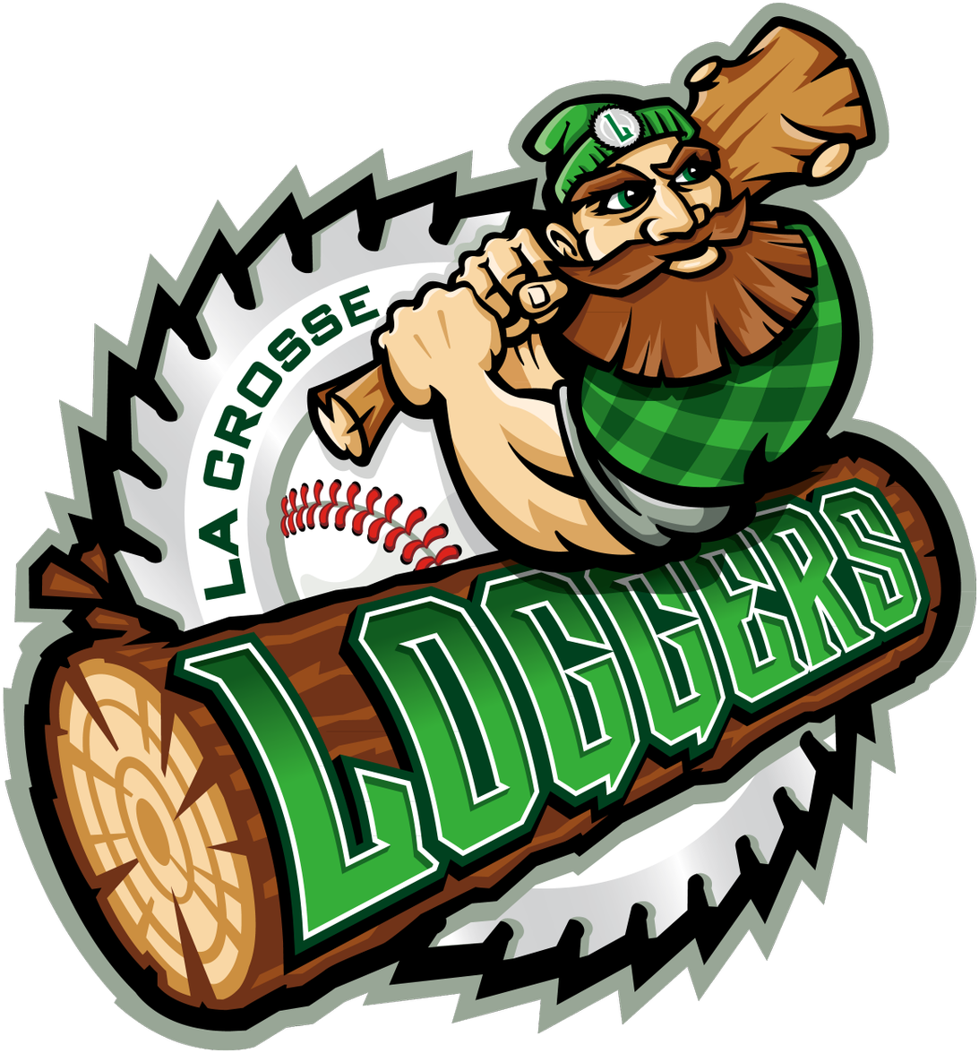 Yesterday\'s Ticker Showed The New La Crosse Loggers.