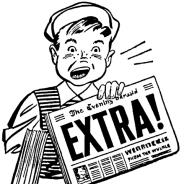 Showing post & media for Newsboy cartoon.