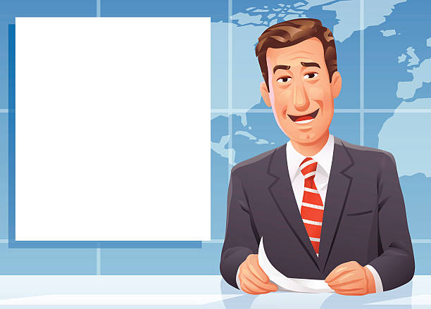 Newscaster clipart 1 » Clipart Station.