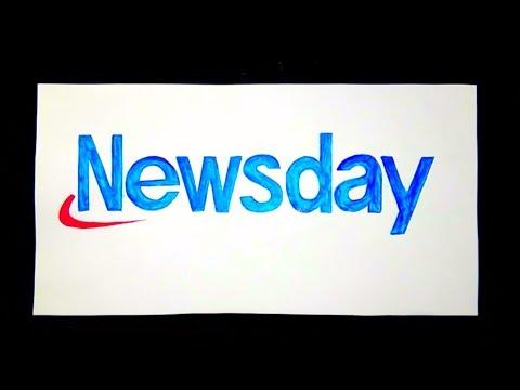 How to draw the Newsday logo.