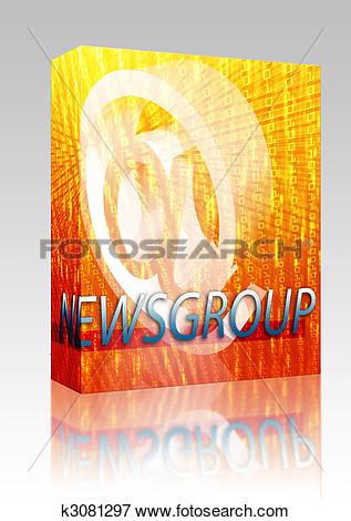 Newsgroups clipart.