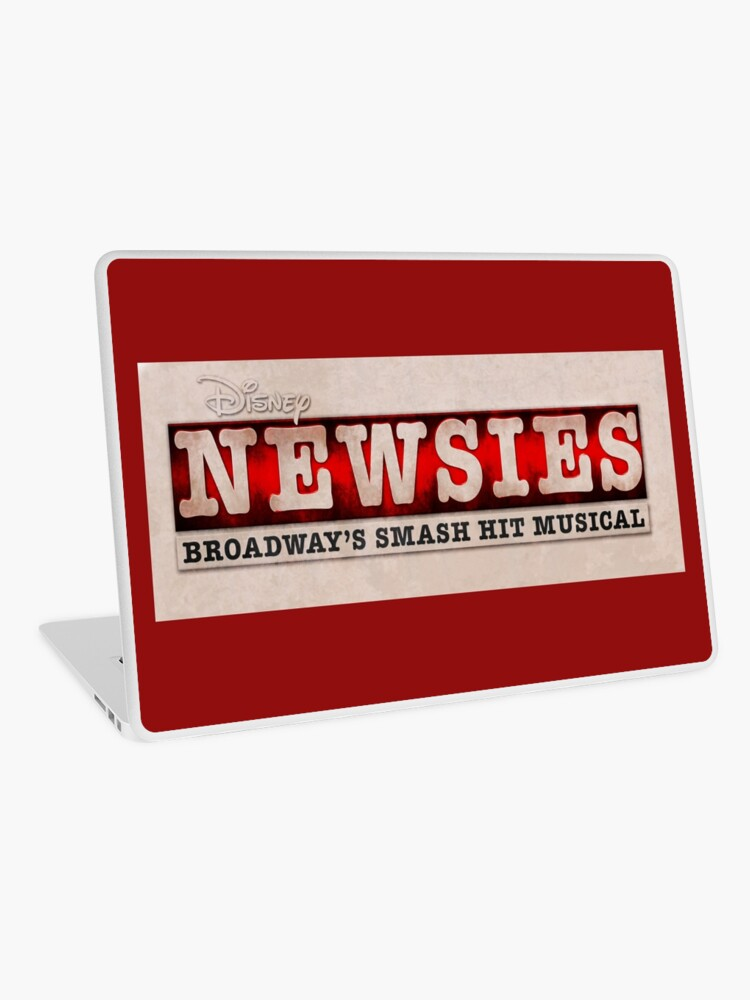Colored Newsies Logo.