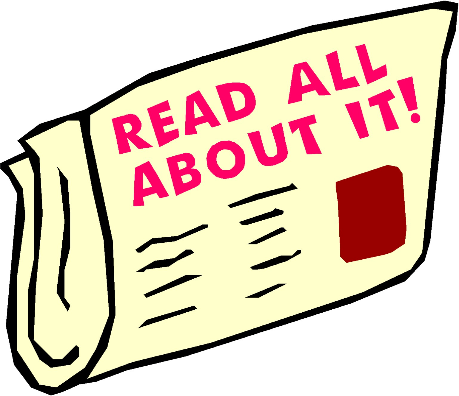 Clipart School Newsletter.