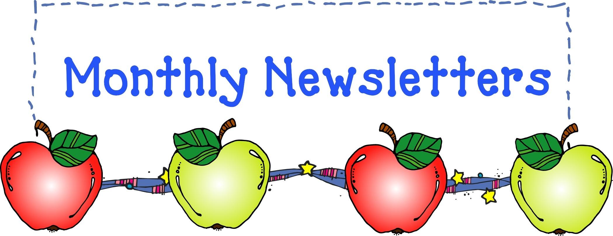 Class newsletter clipart.