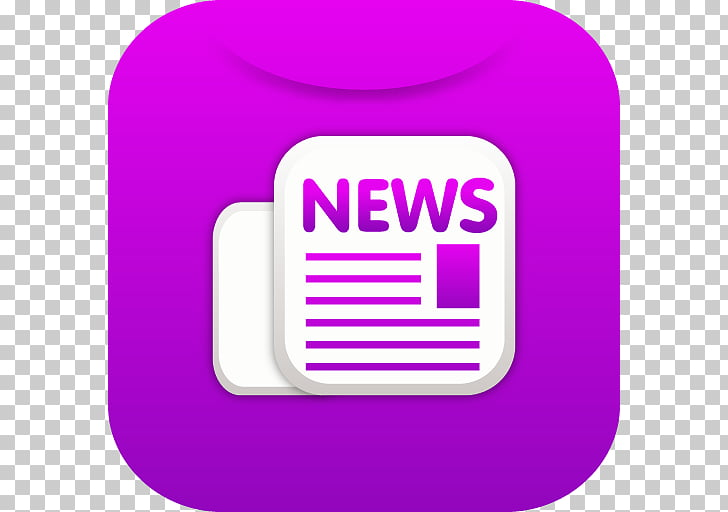 Area purple text brand, Newsletter, news logo PNG clipart.