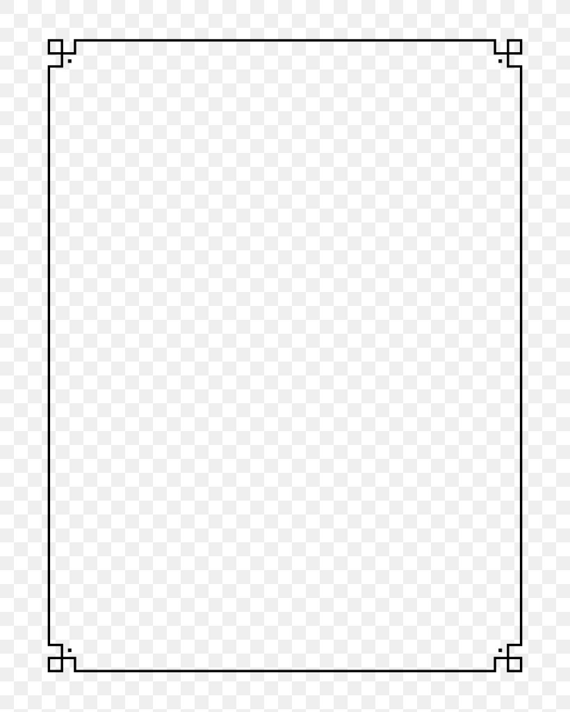 Borders And Frames Document Clip Art, PNG, 768x1024px.