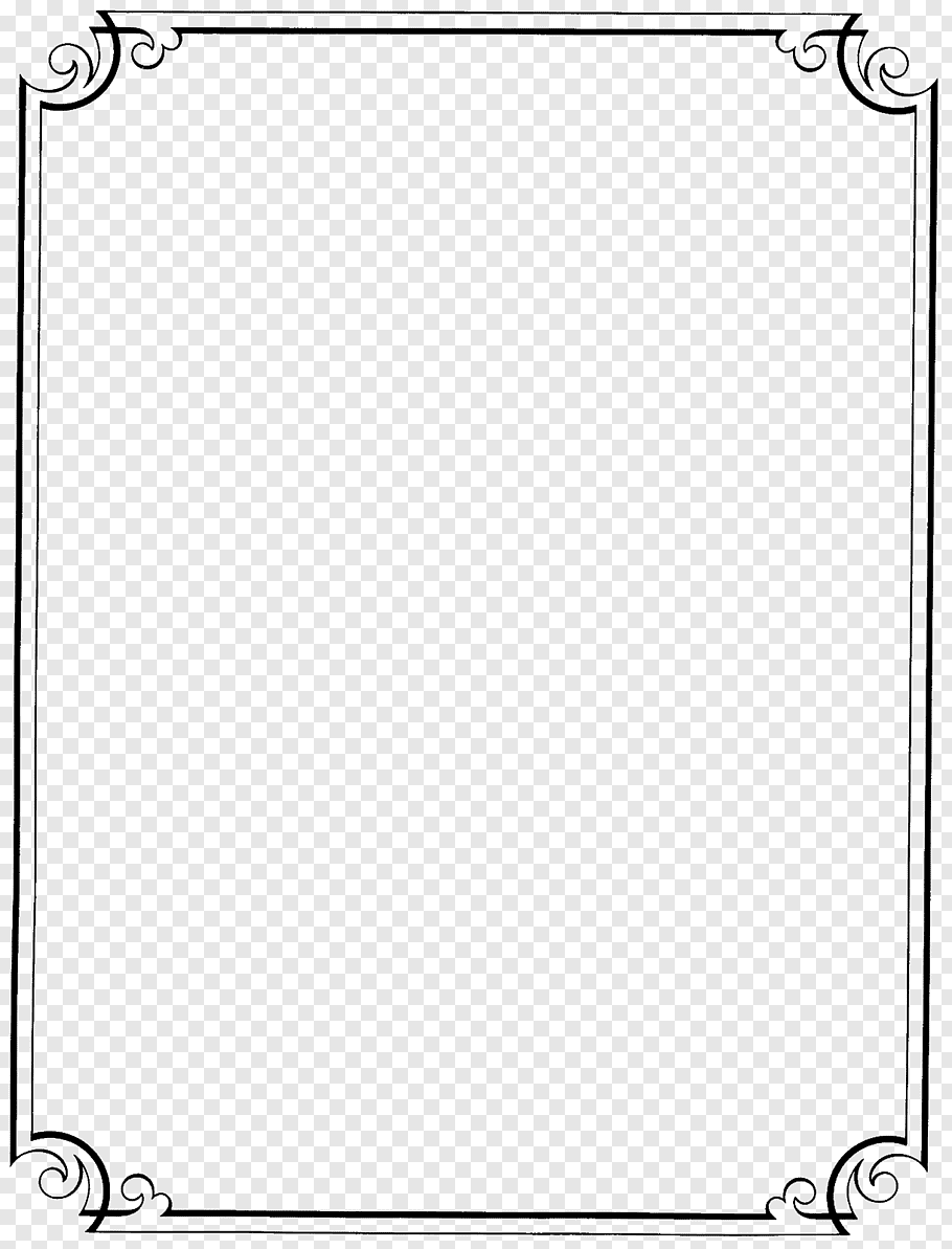 White frame illustration, Borders and Frames Free content.