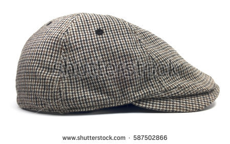 Newsboy Cap Stock Images, Royalty.