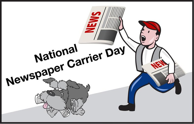 Thank Your Newspaper Carrier.