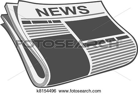 Newspaper Clipart and Illustration. 12,091 newspaper clip art.