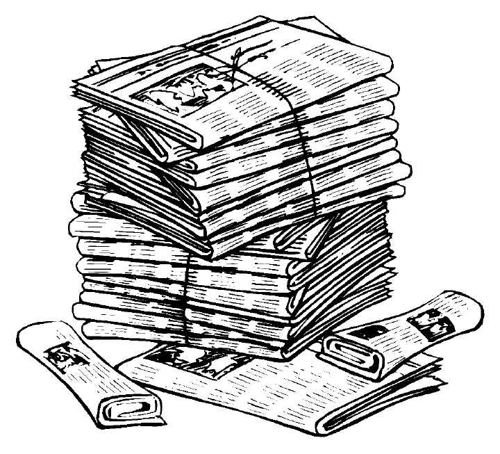 clipart newspaper.