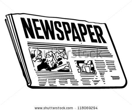 Free Clipart Newspaper.