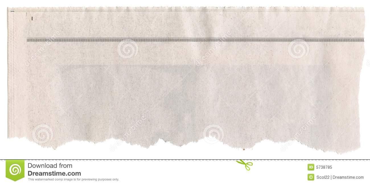 Newspaper Headline stock image. Image of message, crumpled.