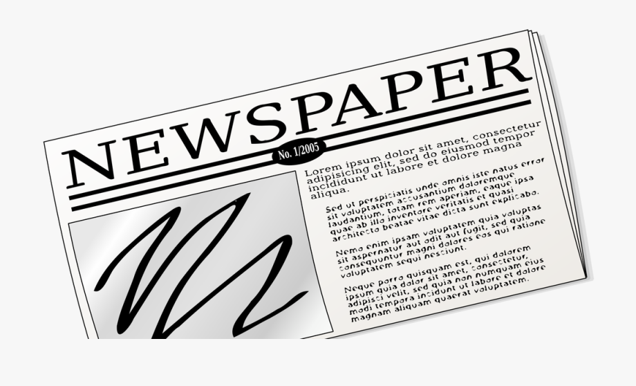 Article Newspaper Clipart.