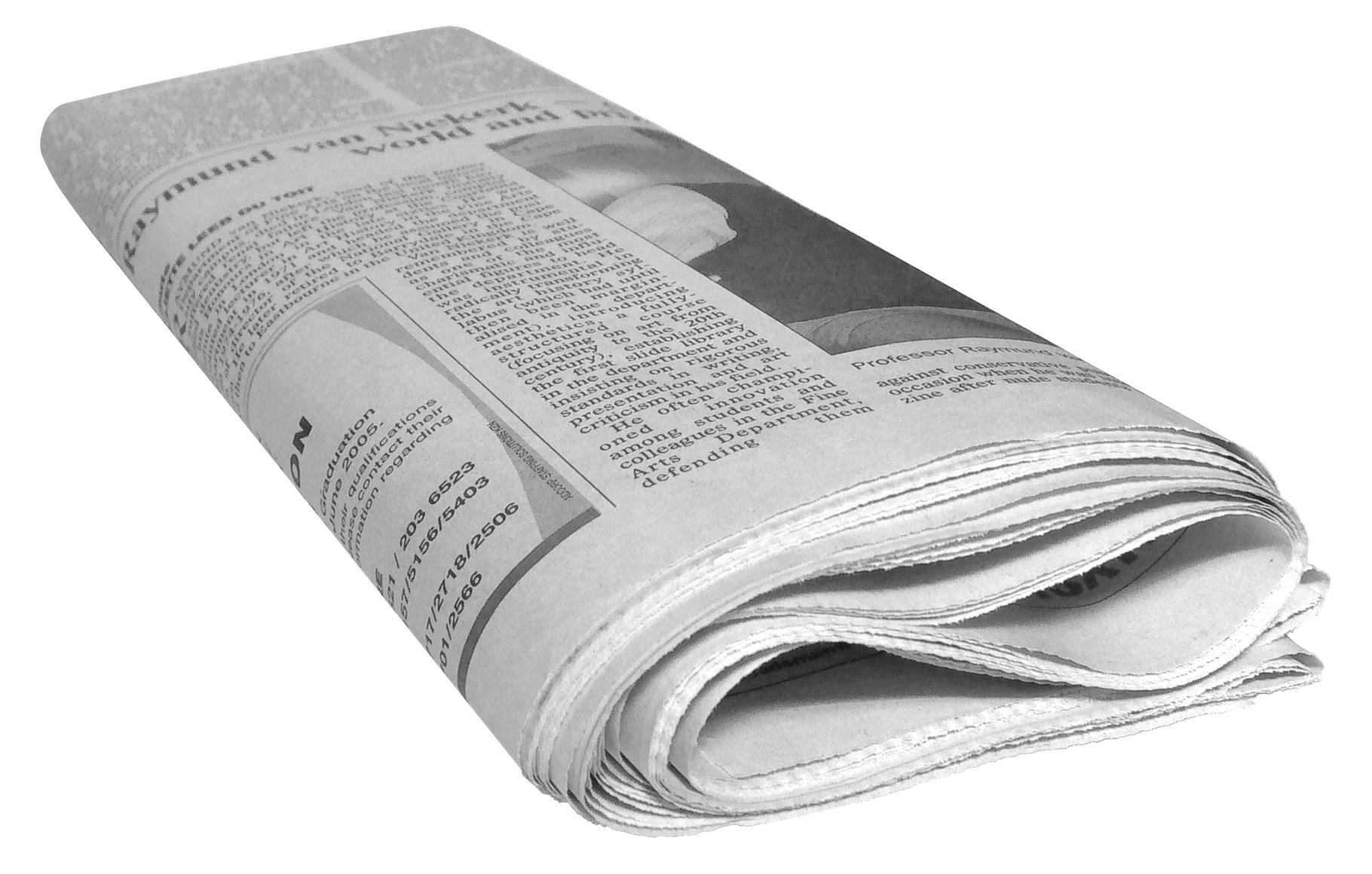 Newspaper PNG Transparent Newspaper.PNG Images..