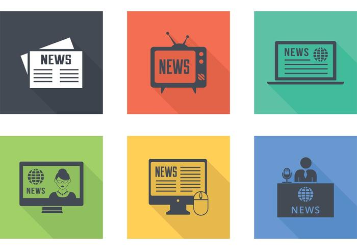 Latest News Vector Icons.