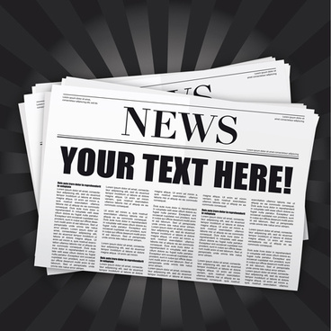 Newspaper vector free vector download (168 Free vector) for.