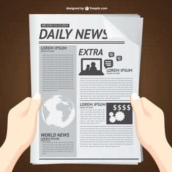 Newspaper Vectors, Photos and PSD files.
