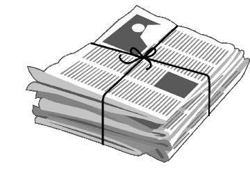Newspaper Wallpaper Clipart.