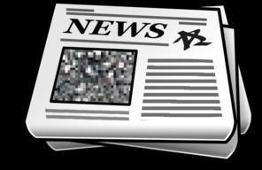 Newspaper Clip Art at Clker.com.
