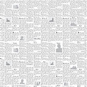 Newsprint Clip Art.