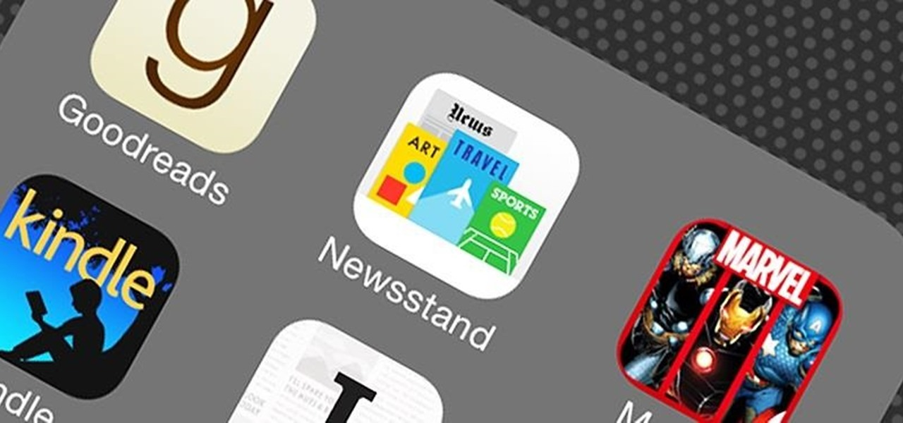 How to Hide the Newsstand App in iOS 7 on Your iPad, iPhone, or.