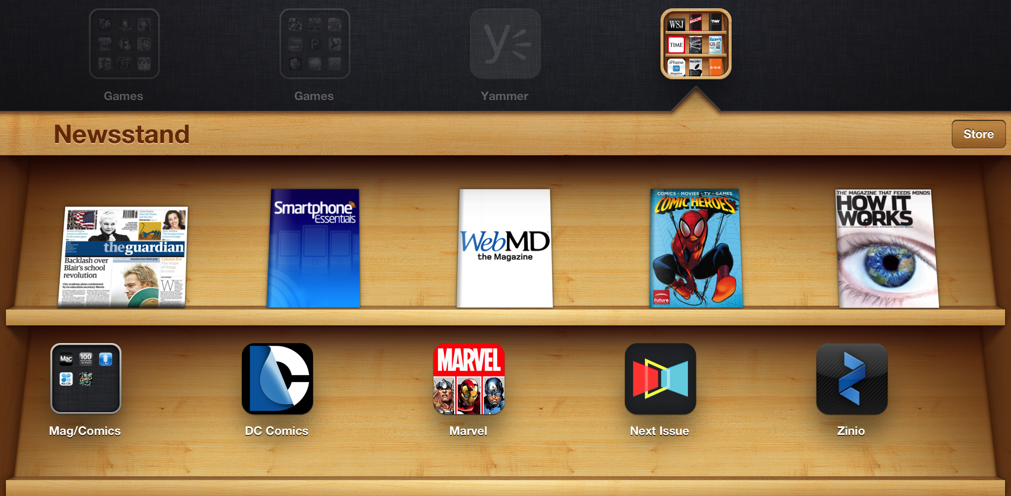 How to Add Any App to the iOS Newsstand (No Jailbreak Required.