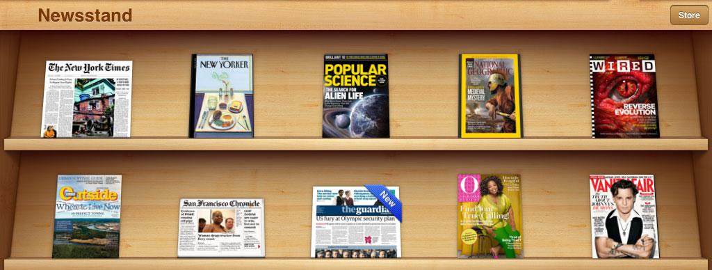 Similiar Newsstand App Keywords.