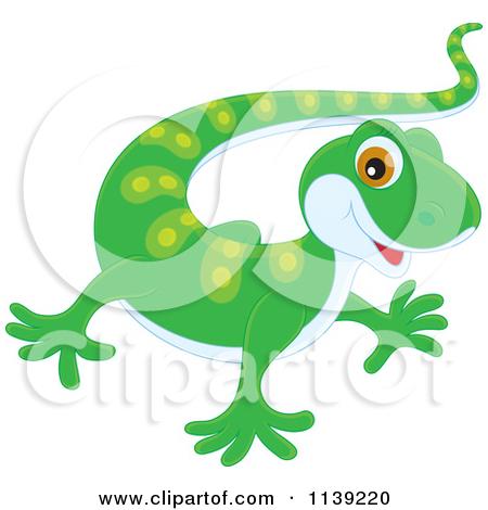Cute Newt Clipart.