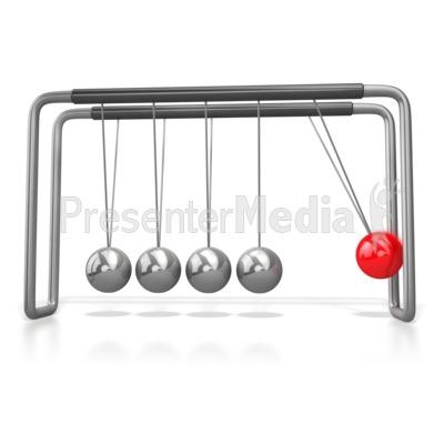 Kinetic Motion Newtons Cradle.