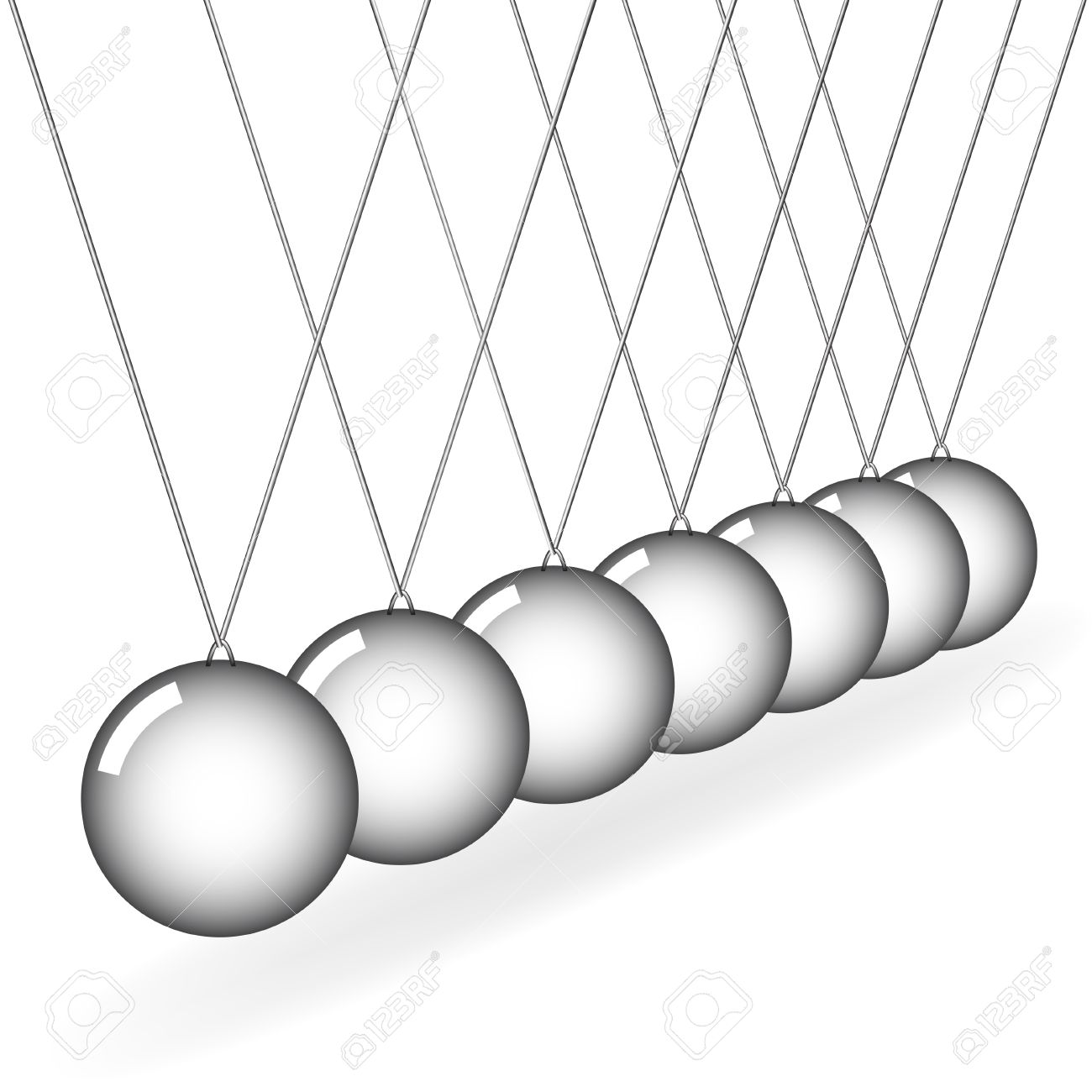 Vector Newton's Cradle Royalty Free Cliparts, Vectors, And Stock.