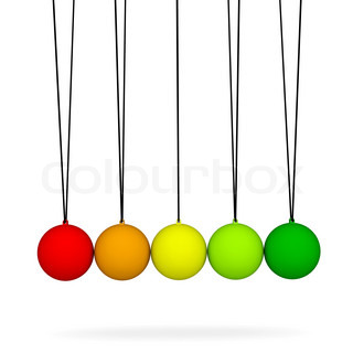 Newton's balls.