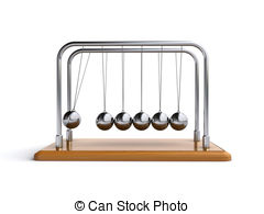 Newtons cradle Stock Illustration Images. 698 Newtons cradle.