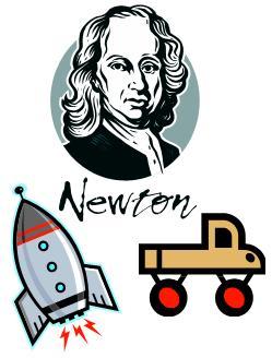 Newton Rocket Car.