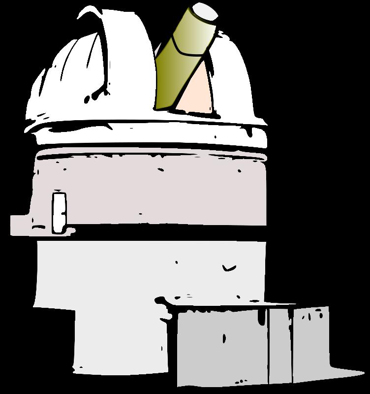 Reflecting Newtonian Telescope Clip Art Download.